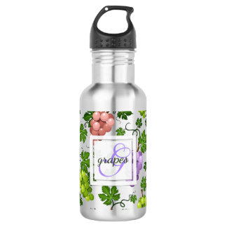 Gentle Grapes and Grapevines 532 Ml Water Bottle