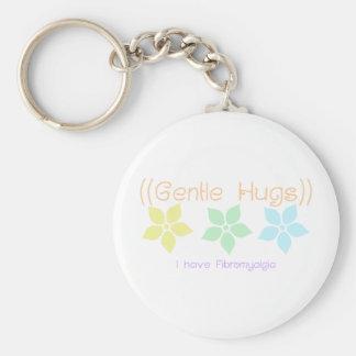 gentle hugs keychain