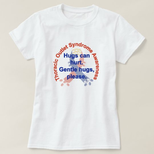Gentle Hugs TOS Awareness Woman's Tee
