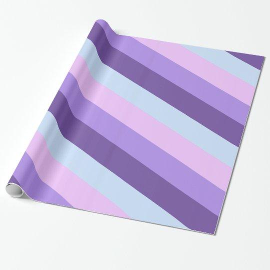 Gentle Lavender Dreams Colour Palette Wrapping Paper