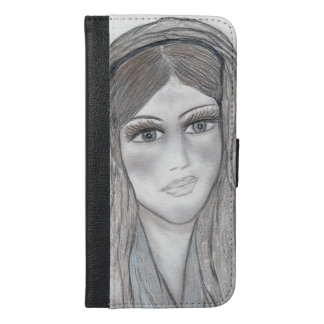 Gentle Mary iPhone 6/6s Plus Wallet Case