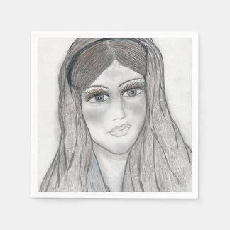 Gentle Mary Paper Napkin