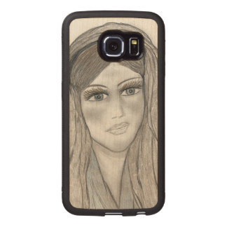 Gentle Mary Wood Phone Case