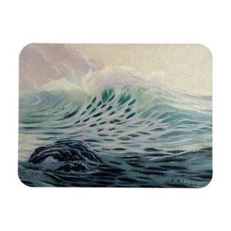 Gentle Ocean Waves Magnet