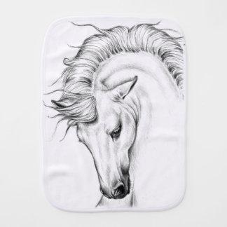 Gentle Stallion Burp Cloth