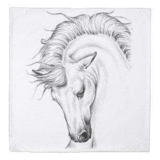 Gentle Stallion Duvet Cover