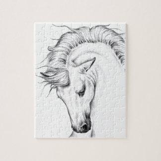 Gentle Stallion Jigsaw Puzzle
