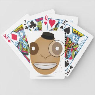 Gentleman Bicycle Playing Cards