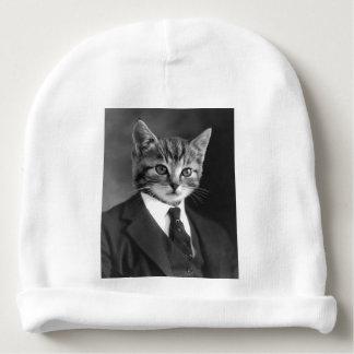 Gentleman Cat #1 Baby Beanie