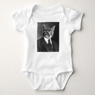 Gentleman Cat #1 Baby Bodysuit