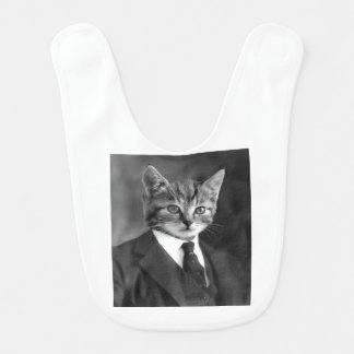 Gentleman Cat #1 Bib