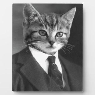 Gentleman Cat #1 Plaque