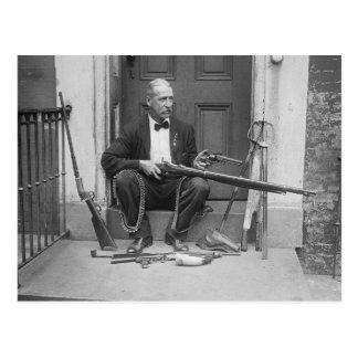 Gentleman Gunslinger, 1927 Postcard