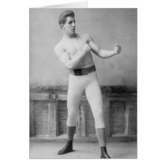 Gentleman Jim Corbitt Card