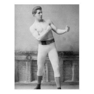 Gentleman Jim Corbitt Postcard