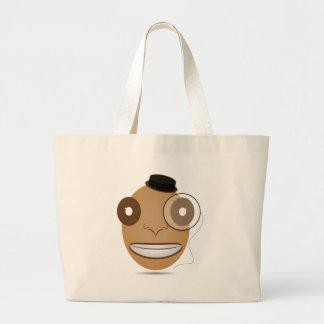 Gentleman Large Tote Bag
