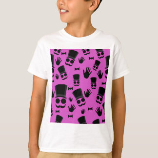 Gentleman - magenta pattern T-Shirt