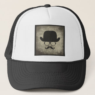 Gentleman Must-Dash Moustache Bowler Hat