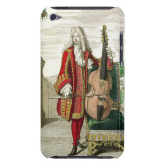 Gentleman playing the cello, published c.1688-90 ( iPod Case-Mate cases