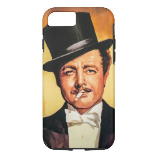 Gentleman Retro iPhone 7 Case
