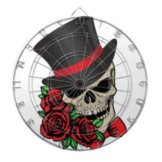 Gentleman Skull Dartboard