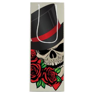 Gentleman Skull Wine Gift Bag