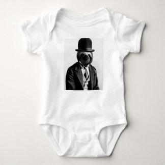 Gentleman Sloth #2 Baby Bodysuit
