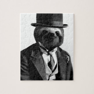 Gentleman Sloth #2 Jigsaw Puzzle