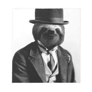Gentleman Sloth #2 Notepad