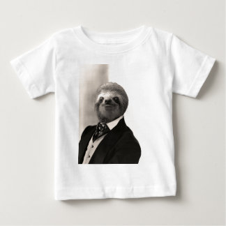 Gentleman Sloth #4 Baby T-Shirt
