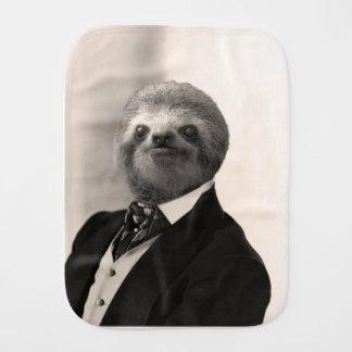Gentleman Sloth #4 Burp Cloth