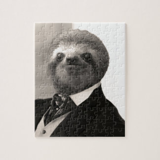 Gentleman Sloth #4 Jigsaw Puzzle