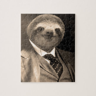 Gentleman Sloth 7# Jigsaw Puzzle