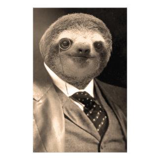 Gentleman Sloth 7# Stationery