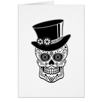 Gentleman Sugar Skull-01 Card