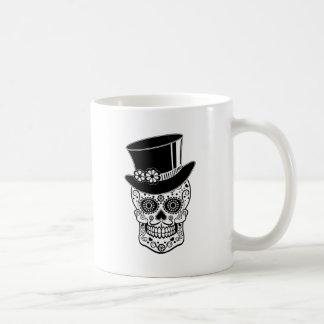 Gentleman Sugar Skull-01 Coffee Mug