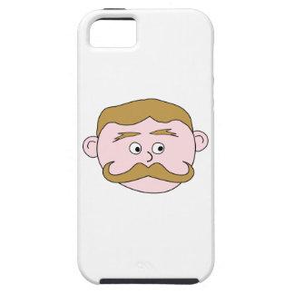 Gentleman with Mustache. iPhone 5 Cover