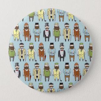 Gentlemen 4 Inch Round Button