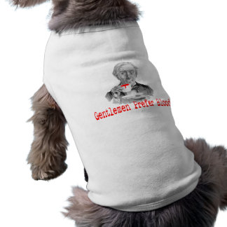 Gentlemen Prefer Blood Doggie Tshirt