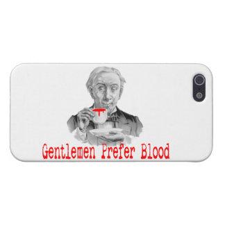 Gentlemen Prefer Blood iPhone 5/5S Cases