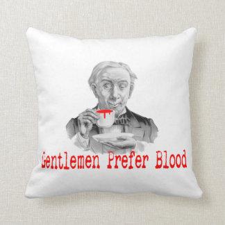Gentlemen Prefer Blood Pillow