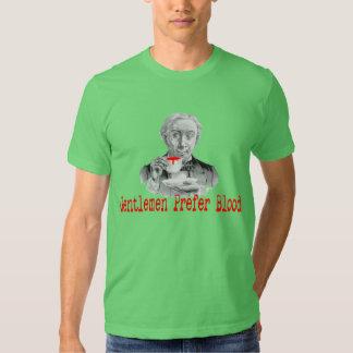 Gentlemen Prefer Blood T-shirts