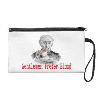 Gentlemen Prefer Blood Wristlet Purse