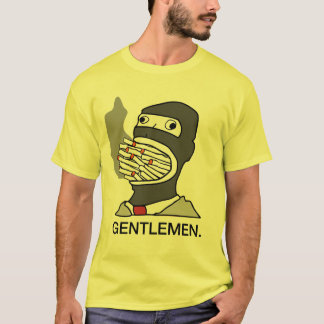 gentlemen spy smoking T-Shirt