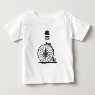 Gentleme's Penny Farthing Baby T-Shirt