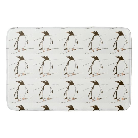 Gentoo Penguin Bathmat