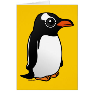 Gentoo Penguin Card