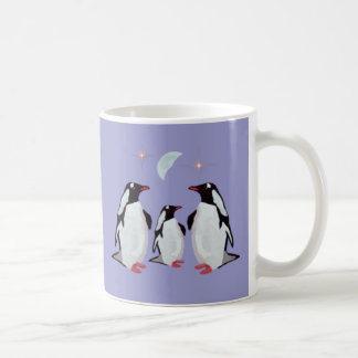 Gentoo Penguin Greetings Mugs