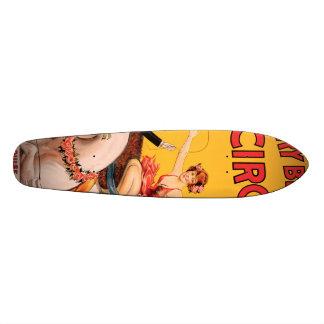 Gentry Bros. Circus Custom Skate Board