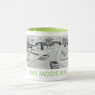 Genuine 1961 Modernist Residential Mug